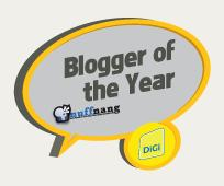 bloggeroftheyear Blogger of the Year