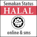 halal Semak status HALAL secara Online dan SMS