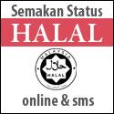 halal Semak status HALAL secara Online dan SMS