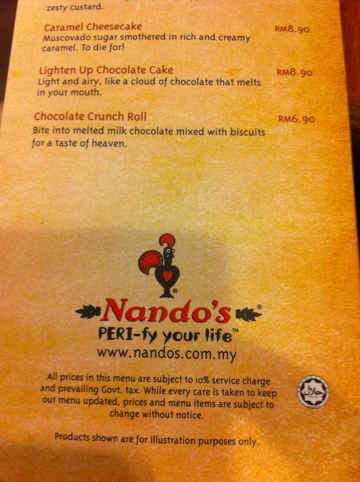 20110626 155139 Nandos ada sijil halal Jakim