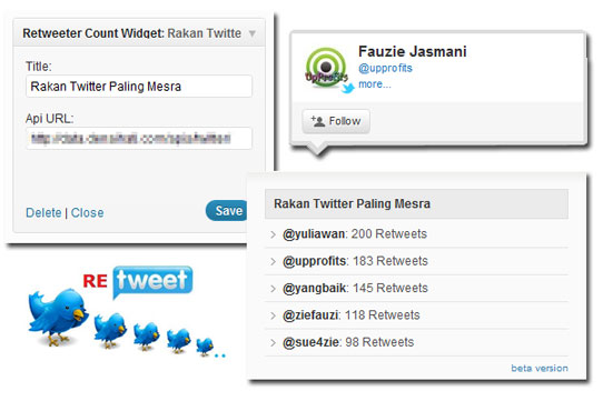 plugin retweet count Plugin retweeter count.