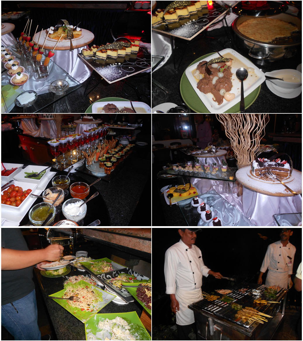 bbq dinner strawberry park resort Berlibur di Strawberry Park Resort, Cameron Highlands