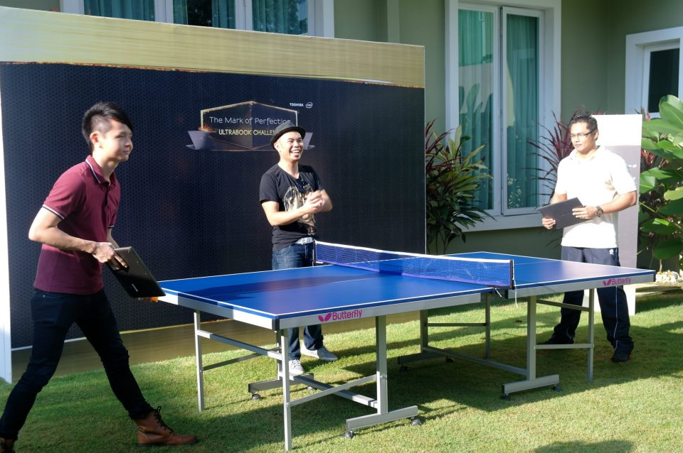 pingpong Mark of Perfection   Toshiba Intel Ultrabook Challenge #toshibaultrabook