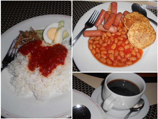 nasi lemak western Makanan Enak di Strawberry Park Resort, Cameron Highlands