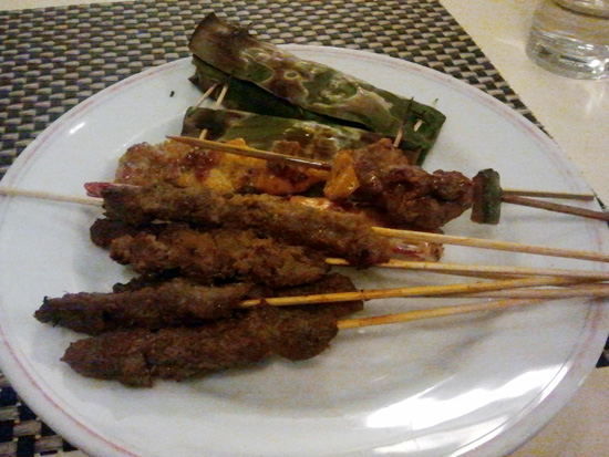 sate cameron highlands Makanan Enak di Strawberry Park Resort, Cameron Highlands