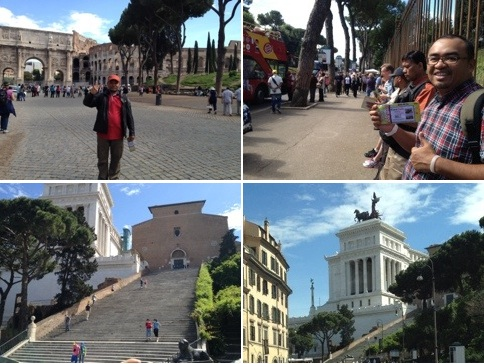 Rome City Tour Kembara Musafir Rome, Italy