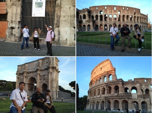 Rome Colosseum Kembara Musafir Rome, Italy