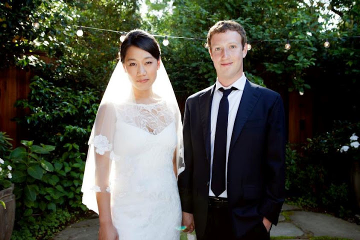 mark kahwin Mark Zuckerberg billionaire kahwin simple je