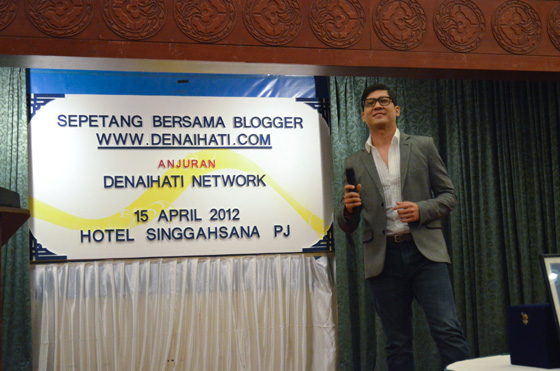 sepetang bersama blogger 4 Video Seminar WordPress dan Sepetang Bersama Blogger