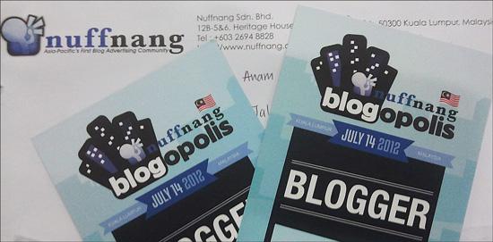 nuffnang blogopolis 2012 Nuffnang Blogopolis 2012 bersama Denaihati