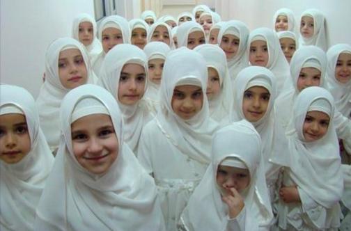 Gadis Bertudung mengikut syariat