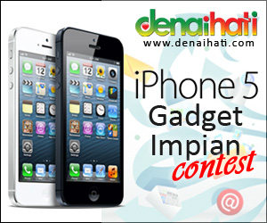 Kontes iPhone 5 Gadget Impian