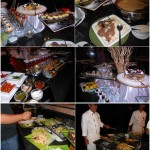 Makan malam di Strawberry Park Resort, Cameron Highlands