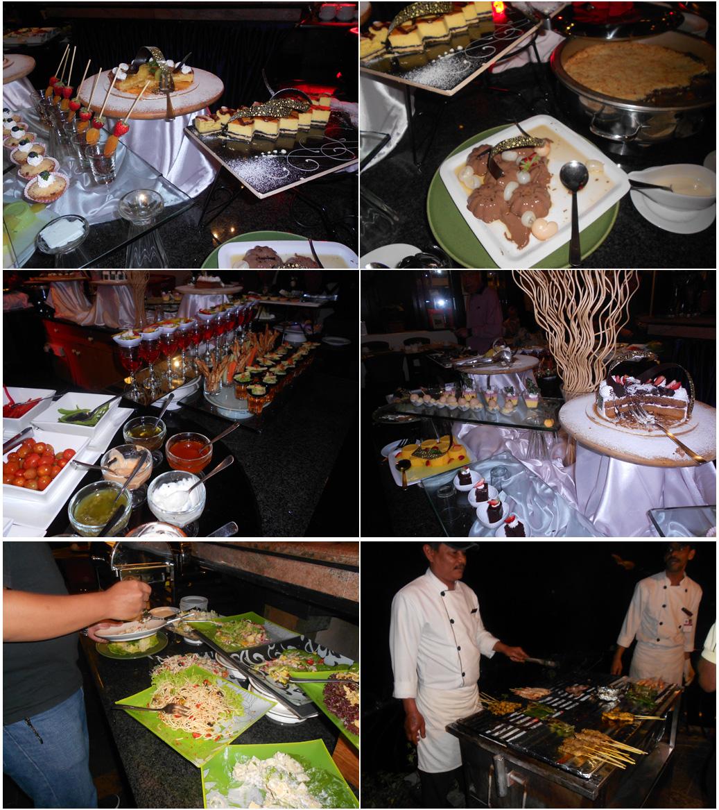 Makan malam di Strawberry Park Resort, Cameron Highlands