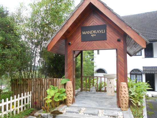 Mandrayu Spa di Strawberry Park Resort