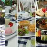 hidangan minum petang di Strawberry Park Resort, Cameron Highlands
