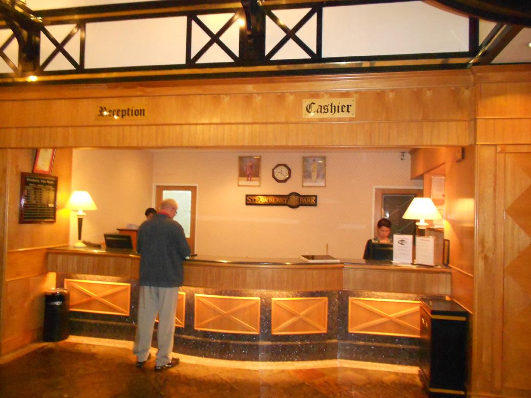 Front Desk Strawberry Park Resort, Cameron Highlands