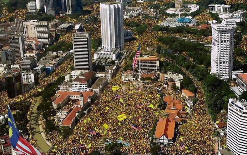 Katanya kehadiran Bersih 3.0 seramai ini