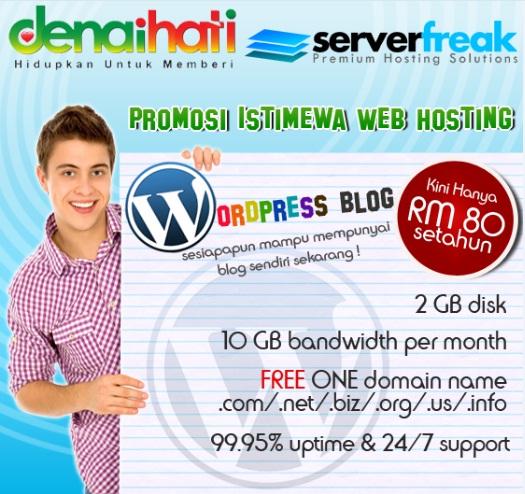 Serverfreak Web Hosting no 1 Malaysia