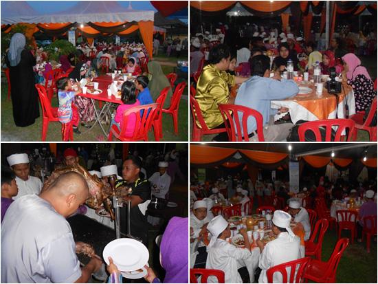 Iftar Warisan Kaseh anjuran eQurban.com