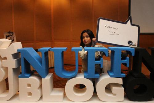 NamiaCinta Nuffnang Blogopolis 2012