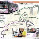 Jajaran GO-KL City bas