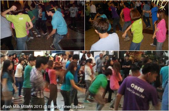 Gangnam Style Flashmob MSMW 2013