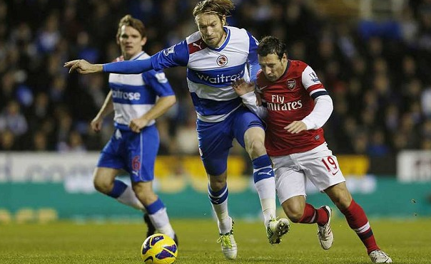 Arsenal vs Reading - Sumber Google
