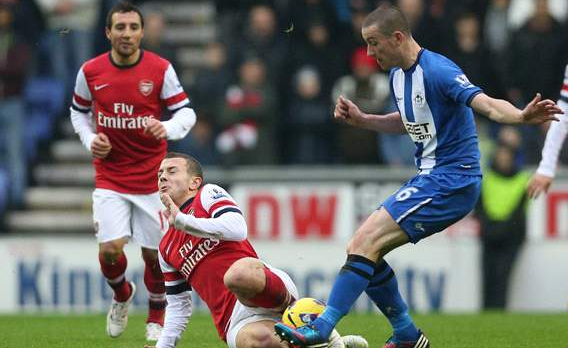 Arsenal vs Newcastle - Sumber Google