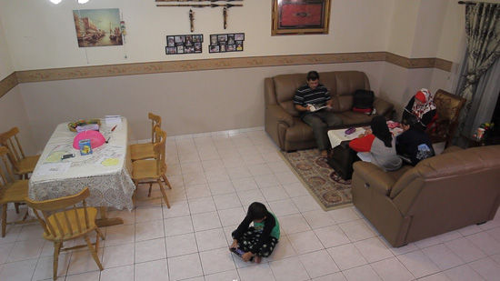 living room sebelum