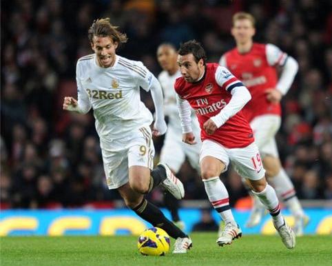 Arsenal vs Manchester City - Sumber Google