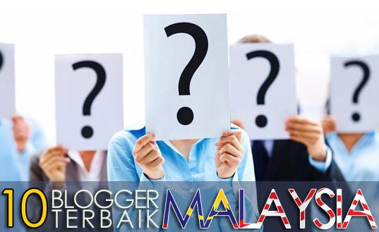 10 Blogger Terbaik Malaysia 2013