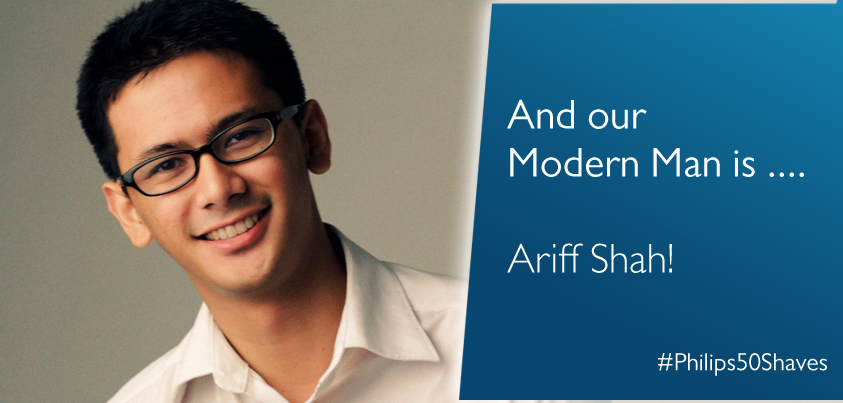 gambar blogger popular malaysia ariff shah