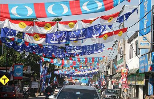 Perang Bendera Pilihanraya