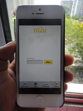 jimat belanja dengan iPhone 5