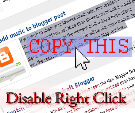 disable right-click