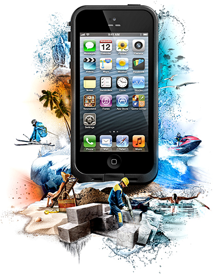 iphone 5 lifeproof