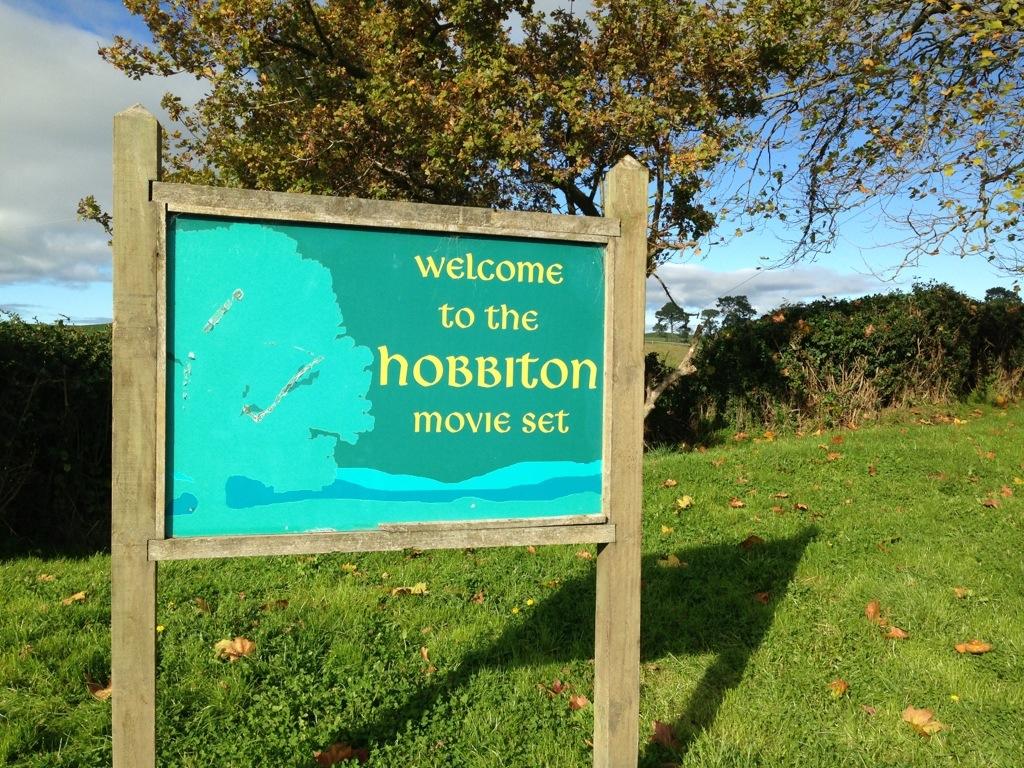 Hobbiton lokasi pergambaran hobbit di mata-mata rotorua