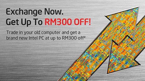 exchange rebate rm300
