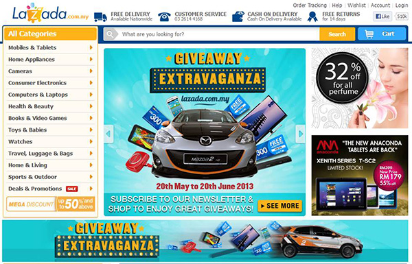 Lazada Giveaway Extravaganza
