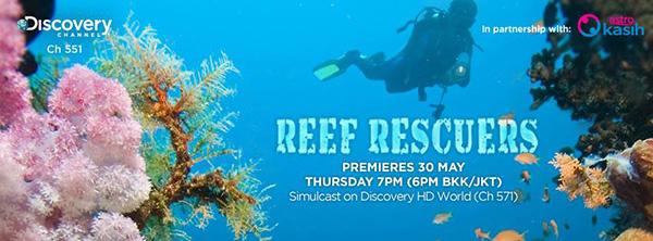 tayangan perdana reef rescuers