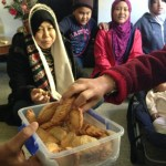 makan karipap di Christchurch