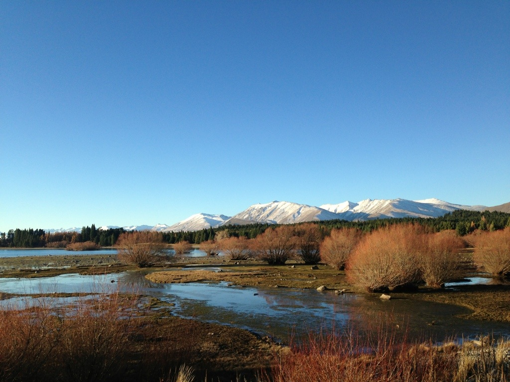 keindahan New Zealand menjelang musim sejuk