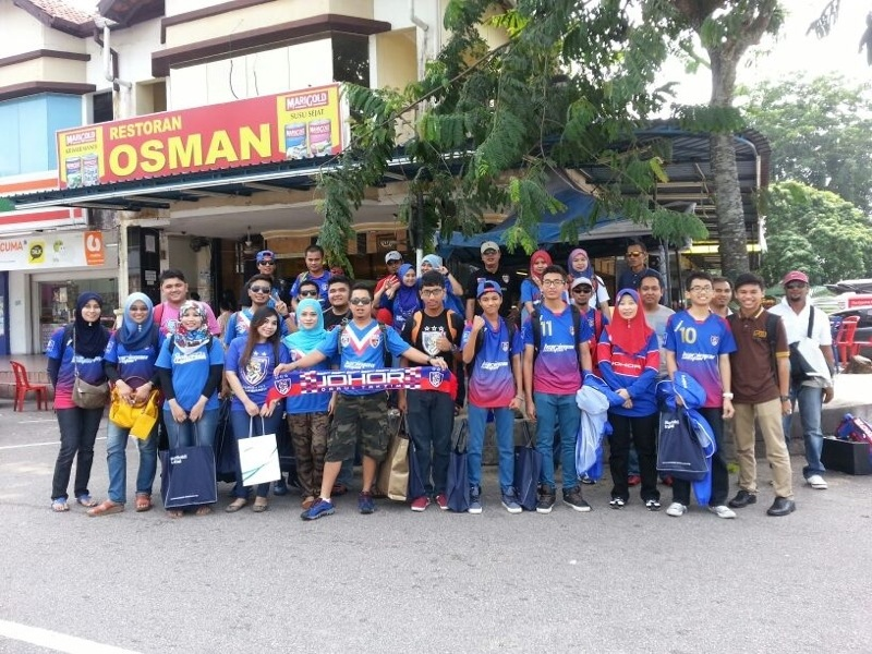 Perlawanan sengit antara Kelantan vs JDT