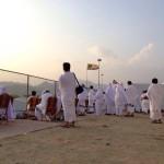 gambar di padang arafah