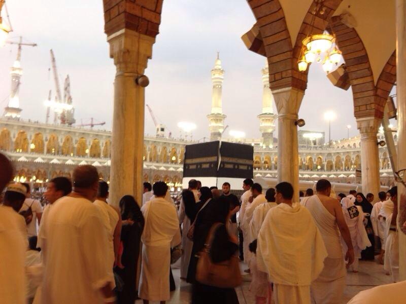 gambar kaabah di masjidil haram mekah
