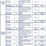 Jadual Peperiksaan Menengah Rendah 2013