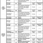 Jadual Waktu Peperiksaan PMR 2013 Calon Berkeperluan Khas