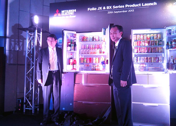 Mitsubishi Folio JX Folio BX Series Product Launch