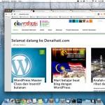 Blog denaihati pada paparan retina Macbook Pro